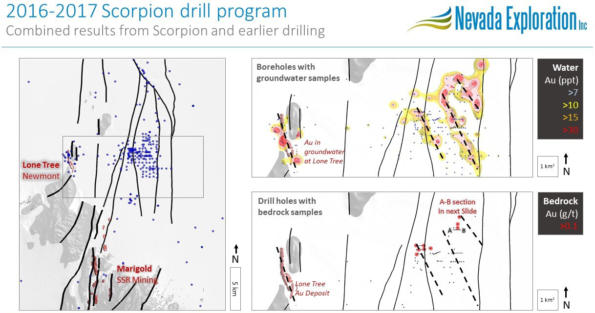 2016-2017 Scorpion drill program