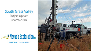 South Grass Valley Technical Presentation March 2018
